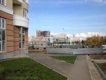 View to: 8 Marta street, 149 (ТРЦ Мегаполис); Soiuznaya street, 8. Yekaterinburg (Sverdlovskaya oblast)