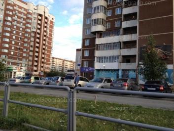 View to: Samotsvetniy boulevard, 1; Akademika Shvartsa street, 2 к1; Akademika Shvartsa street, 4; Akademika Shvartsa street, 6 к2. Yekaterinburg (Sverdlovskaya oblast)