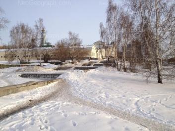 На фото видно: Карла Либкнехта улица, 44 к9; Карла Либкнехта улица, 44; Клары Цеткин улица, 14. Екатеринбург (Свердловская область)