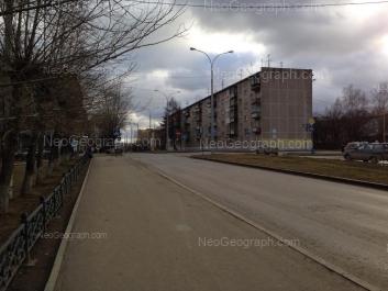 View to: Latviiskaya street, 17. Yekaterinburg (Sverdlovskaya oblast)
