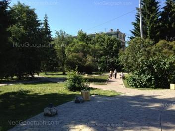 На фото видно: Банникова улица, 1. Екатеринбург (Свердловская область)