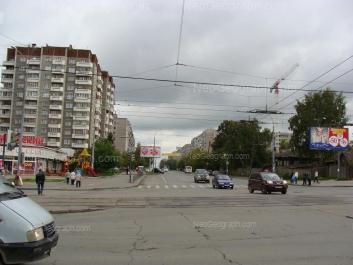 На фото видно: Советская улица, 39; Советская улица, 52; Уральская улица, 67. Екатеринбург (Свердловская область)