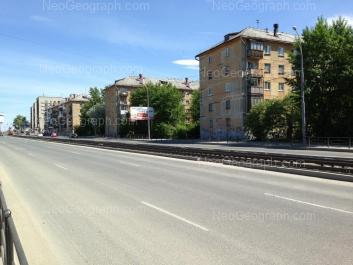 View to: Donbasskaya street, 8; Donbasskaya street, 12; Donbasskaya street, 14; Donbasskaya street, 16. Yekaterinburg (Sverdlovskaya oblast)