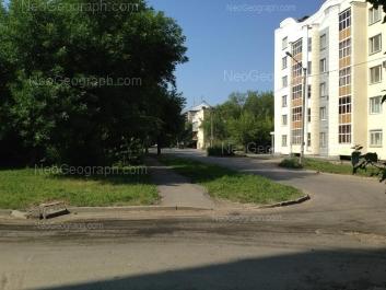 На фото видно: Кировградская улица, 1; Кировградская улица, 20. Екатеринбург (Свердловская область)