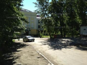 View to: Repina street, 2А (Свердловский областной медицинский колледж, учебный корпус №1). Yekaterinburg (Sverdlovskaya oblast)