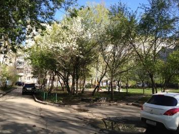 View to: Vogogradskaya street, 45; Vogogradskaya street, 45. Yekaterinburg (Sverdlovskaya oblast)