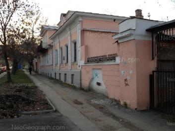 View to: Dekabristov street, 40. Yekaterinburg (Sverdlovskaya oblast)