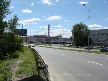View to: Marata street, 17; Khalturina street, 55 (Карнавал, ТРЦ). Yekaterinburg (Sverdlovskaya oblast)