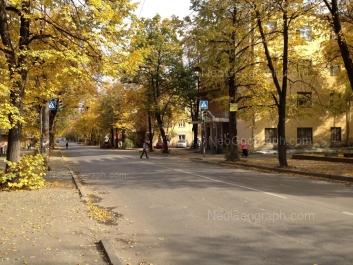 View to: Iliicha street, 2; Iliicha street, 3; Iliicha street, 4. Yekaterinburg (Sverdlovskaya oblast)