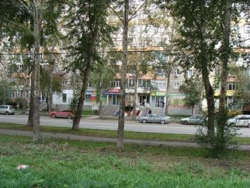 View to: Amundsena street, 68. Yekaterinburg (Sverdlovskaya oblast)