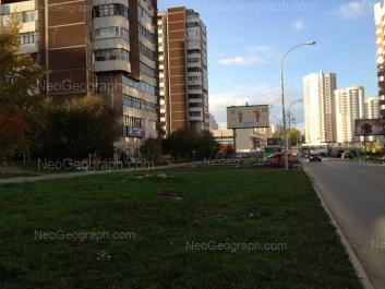 View to: Akademika Shvartsa street, 2 к3; Akademika Shvartsa street, 2 к1. Yekaterinburg (Sverdlovskaya oblast)