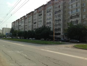View to: Frezerovschikov street, 28; Frezerovschikov street, 32. Yekaterinburg (Sverdlovskaya oblast)