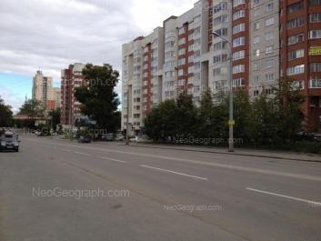 На фото видно: Чайковского улица, 19; Чапаева улица, 21; Чапаева улица, 21. Екатеринбург (Свердловская область)