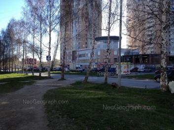 View to: Yasnaya street, 31а; Yasnaya street, 31; Yasnaya street, 33. Yekaterinburg (Sverdlovskaya oblast)
