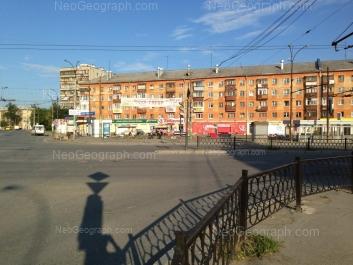 На фото видно: Космонавтов проспект, 43; Ильича улица, 71. Екатеринбург (Свердловская область)