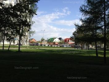 View to: Chkalova street, 124. Yekaterinburg (Sverdlovskaya oblast)