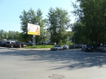 View to: Vostochnaya street, 33б (Уральский оптико-механический завод, УОМЗ). Yekaterinburg (Sverdlovskaya oblast)