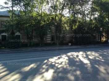 На фото видно: Шефская улица, 8 (Отдел полиции Орджоникидзевского района). Екатеринбург (Свердловская область)