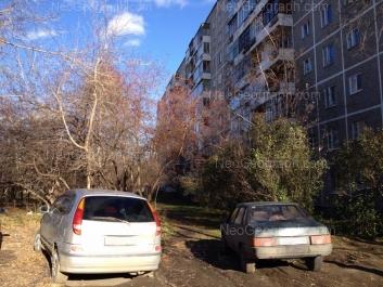 View to: Belorechenskaya street, 34/2. Yekaterinburg (Sverdlovskaya oblast)