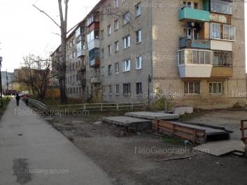 View to: Bakchivangi street, 8; Ispitateley street, 13. Yekaterinburg (Sverdlovskaya oblast)
