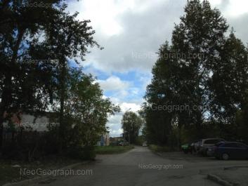 View to: Kashirskaya street, 75. Yekaterinburg (Sverdlovskaya oblast)