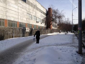 View to: Studencheskaya street, 16. Yekaterinburg (Sverdlovskaya oblast)