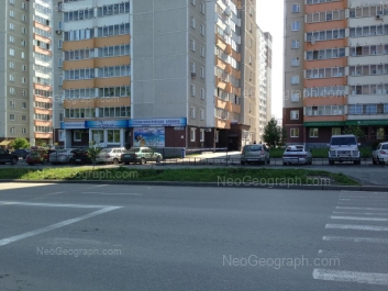 View to: Uchiteley street, 10; Uchiteley street, 12; Uchiteley street, 14; Uchiteley street, 20. Yekaterinburg (Sverdlovskaya oblast)