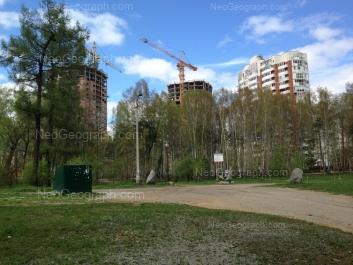 View to: Shadrinskiy lane, 16. Yekaterinburg (Sverdlovskaya oblast)