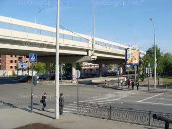 На фото видно: Московская улица, 118. Екатеринбург (Свердловская область)