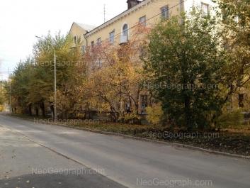View to: Festivalnaya street, 5. Yekaterinburg (Sverdlovskaya oblast)