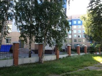 View to: Akademika Bardina street, 9А (Бонум, медицинский центр). Yekaterinburg (Sverdlovskaya oblast)