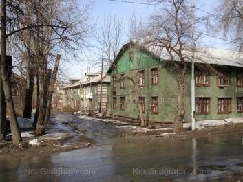 View to: Korepina street, 9; Korepina street, 9А. Yekaterinburg (Sverdlovskaya oblast)