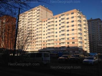 View to: Borovaya street, 29; Borovaya street, 31; Vilonova street, 22а (ЖСК Оптима). Yekaterinburg (Sverdlovskaya oblast)