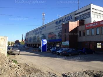 На фото видно: Начдива Онуфриева улица, 47; Решетникова проезд, 22. Екатеринбург (Свердловская область)