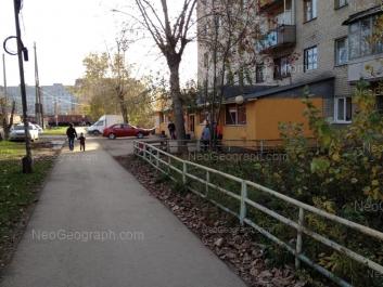 View to: Aviatorov street, 1А; Bakchivangi street, 8; Ispitateley street, 13. Yekaterinburg (Sverdlovskaya oblast)