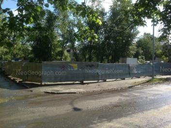 На фото видно: Лукиных улица, 18А; Лукиных улица, 22А. Екатеринбург (Свердловская область)