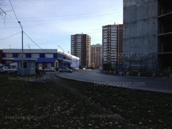 View to: 8 Marta street, 185; 8 Marta street, 185/5; Akademika Shvartsa street, 2 к2; Akademika Shvartsa street, 2 к1. Yekaterinburg (Sverdlovskaya oblast)