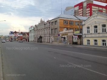 View to: 8 Marta street, 16а; 8 Marta street, 18; 8 Marta street, 20. Yekaterinburg (Sverdlovskaya oblast)