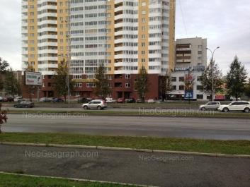 View to: Tokarey street, 40 (Радуга, жилой комплекс). Yekaterinburg (Sverdlovskaya oblast)