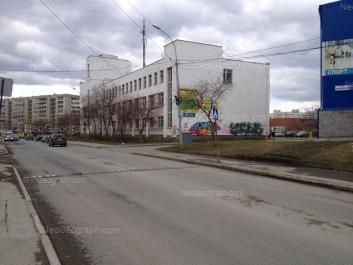 На фото видно: Бебеля улица, 122Б; Опалихинская улица, 21; Опалихинская улица, 23. Екатеринбург (Свердловская область)