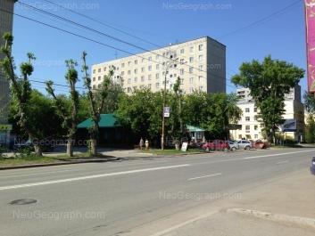 View to: Sulimova street, 31; Sulimova street, 33А (Общежитие). Yekaterinburg (Sverdlovskaya oblast)