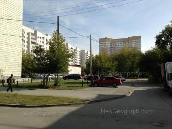 На фото видно: Татищева улица, 53; Токарей улица, 40 (Радуга, жилой комплекс). Екатеринбург (Свердловская область)