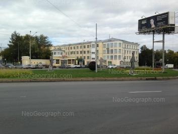 View to: Repina street, 3 (Уральский государственный медицинский университет). Yekaterinburg (Sverdlovskaya oblast)