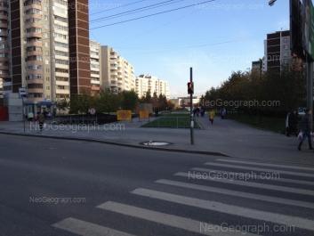 View to: Krestinskogo street, 41; Rodonitovaya street, 14; Rodonitovaya street, 16; Rodonitovaya street, 26. Yekaterinburg (Sverdlovskaya oblast)