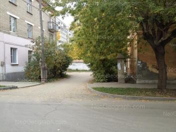 На фото видно: Белинского улица, 182; Циолковского улица, 76А; Циолковского улица, 78. Екатеринбург (Свердловская область)