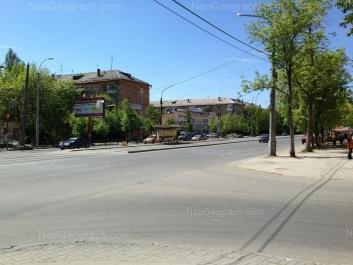 На фото видно: Машиностроителей улица, 63; Машиностроителей улица, 65; Машиностроителей улица, 67. Екатеринбург (Свердловская область)