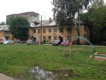 На фото видно: Войкова улица, 76. Екатеринбург (Свердловская область)