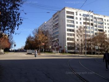 View to: Michurina street, 217; Michurina street, 217. Yekaterinburg (Sverdlovskaya oblast)