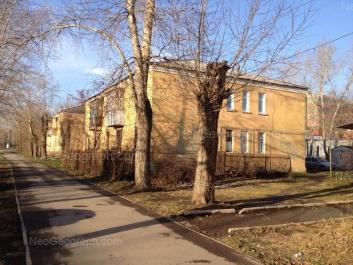 View to: Nachdiva Vasilieva street, 8. Yekaterinburg (Sverdlovskaya oblast)