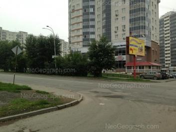 На фото видно: Красных Командиров улица, 29; Красных Командиров улица, 72. Екатеринбург (Свердловская область)